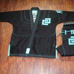 Cauliflower Culture Kimono Black